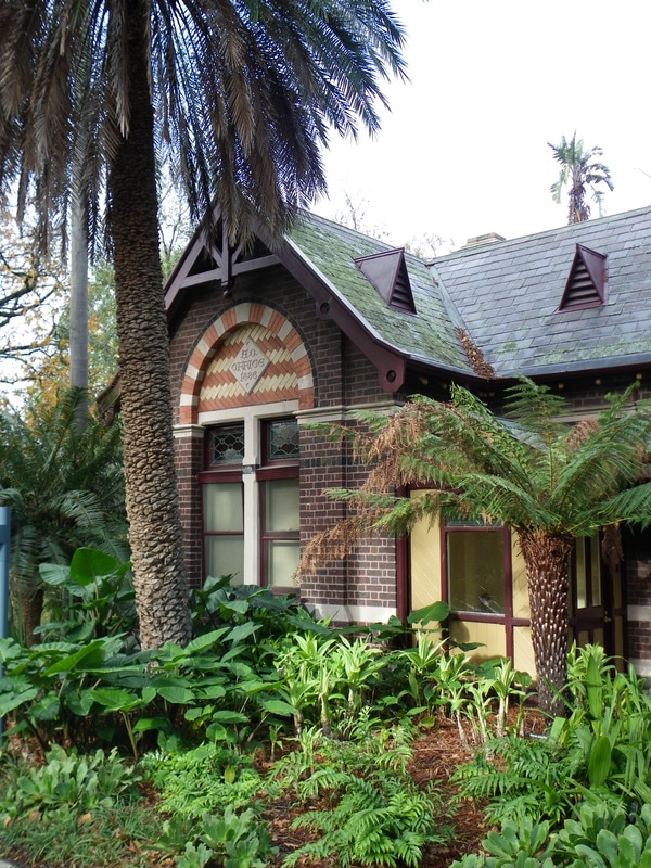 Gate Lodge. Royal Botanic Gardens Melbourne.