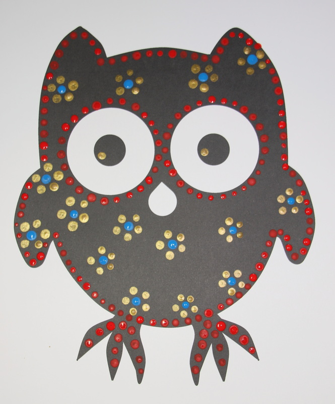 Owl Painting Craft For Kids - Craft 'N' Home