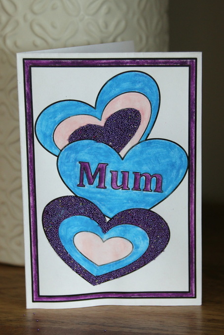 Free printable templates for mother's day cards kids craft