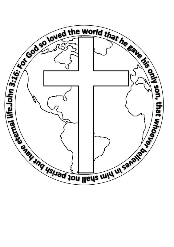 john 3 coloring pages - photo#22