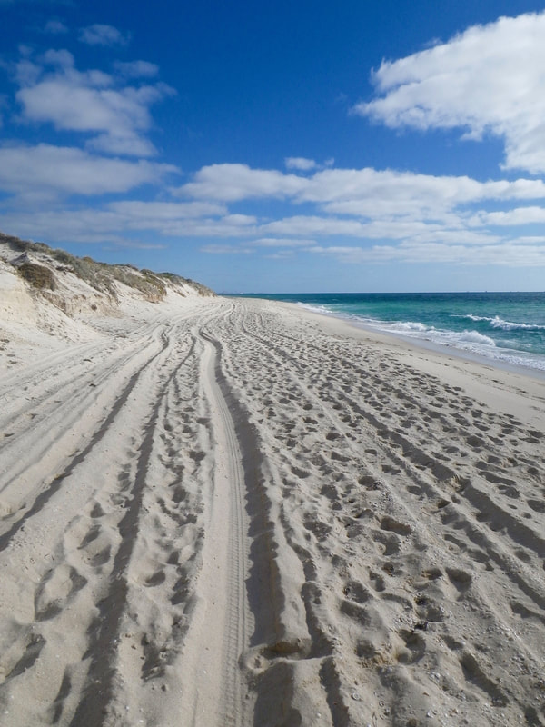 Scarborough Beach, Perth, Western Australia.