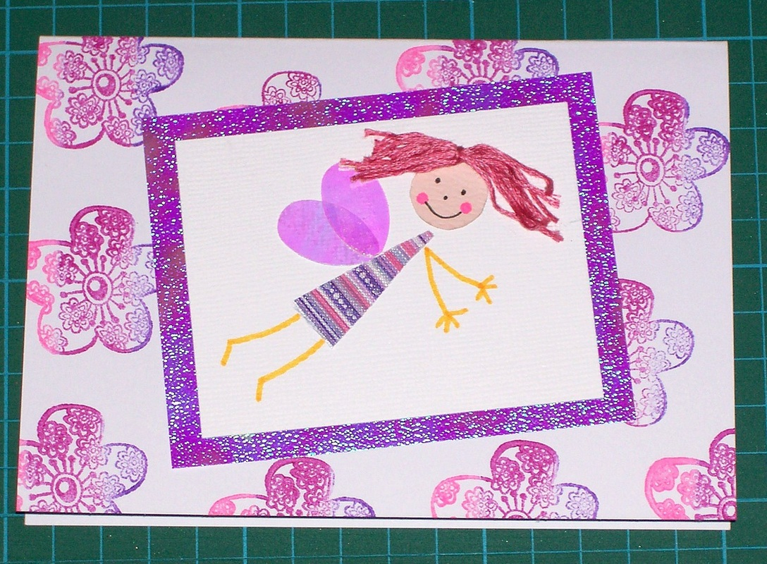 how to make a fairy card instructions card making craft