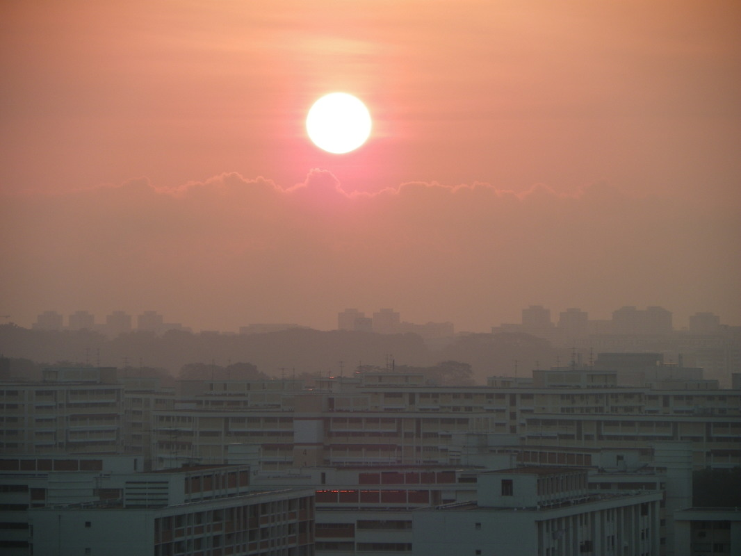 Sunrise, Singapore, Bishan Area.