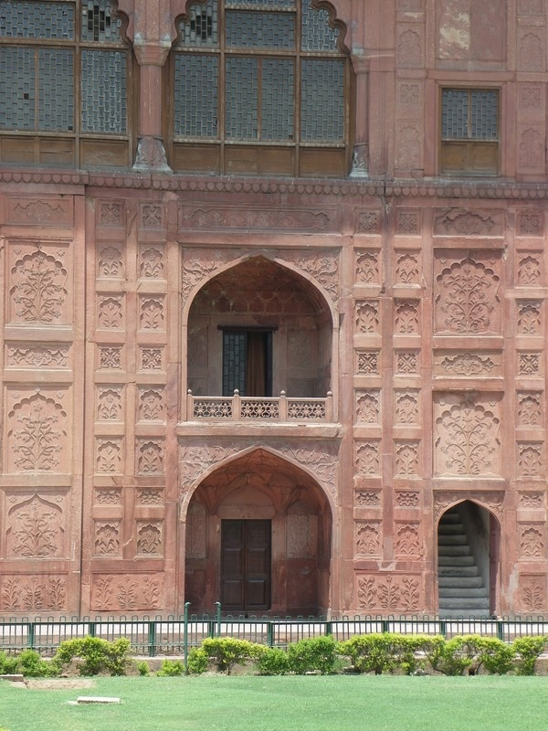 The Red Fort, Delhi, India. The Naubat Khana (Music Gallery)