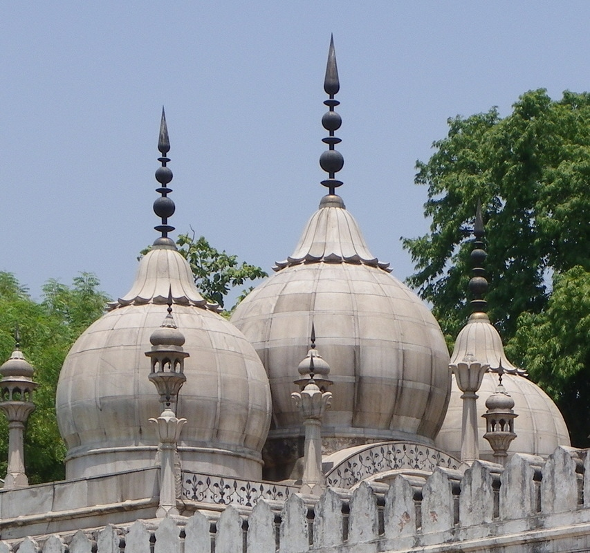 The Red Fort, Delhi, India. Moti Masjid (Pearl Mosque).