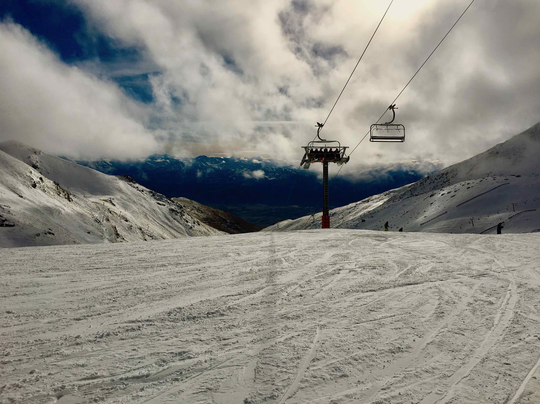 The Remarkables Ski Fields.