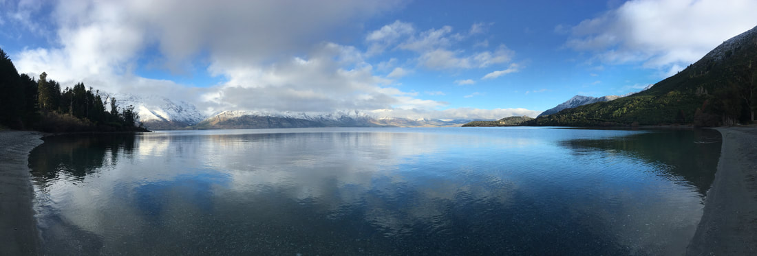The drive from Queenstown to Glenorchy