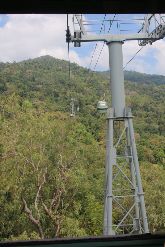 The Skyrail Rainforest Cableway, Cairns to Kuranda, Queensland, Australia