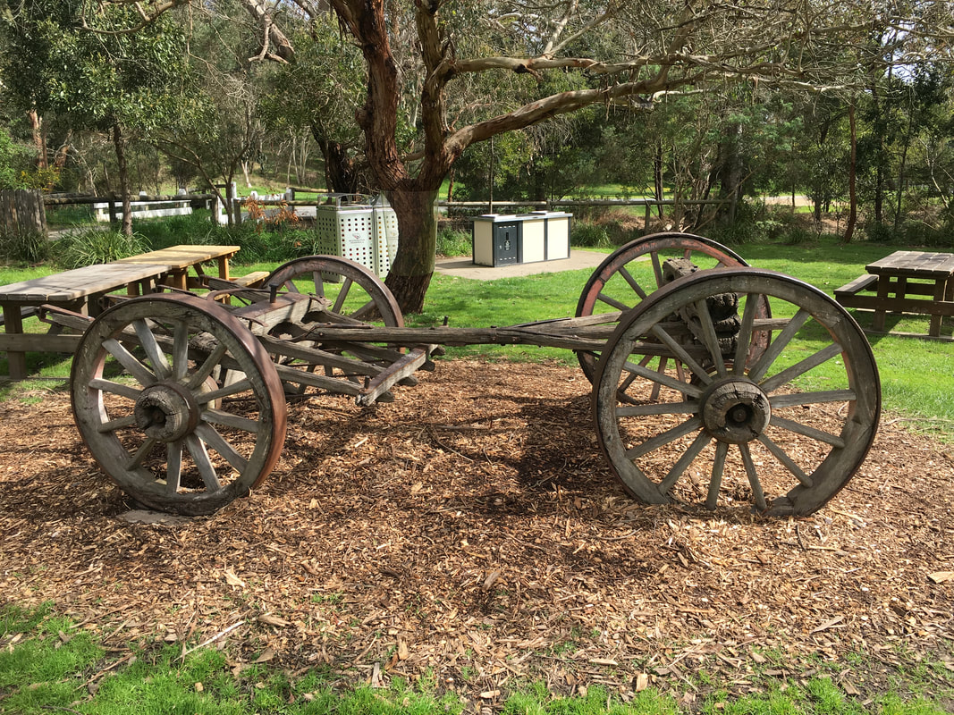 Old Wagon, The Briars, Mount Martha, Mornington Peninsula, Victoria, Australia