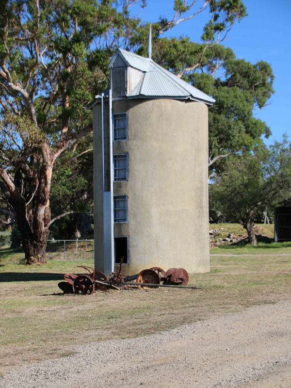 Old Grain Silo, The Briars, Mount Martha, Victoria, Australia