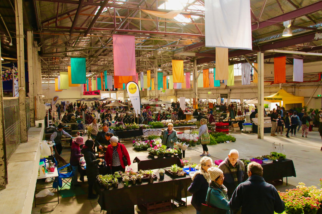 Old Bus Depot Markets, Canberra, ACT