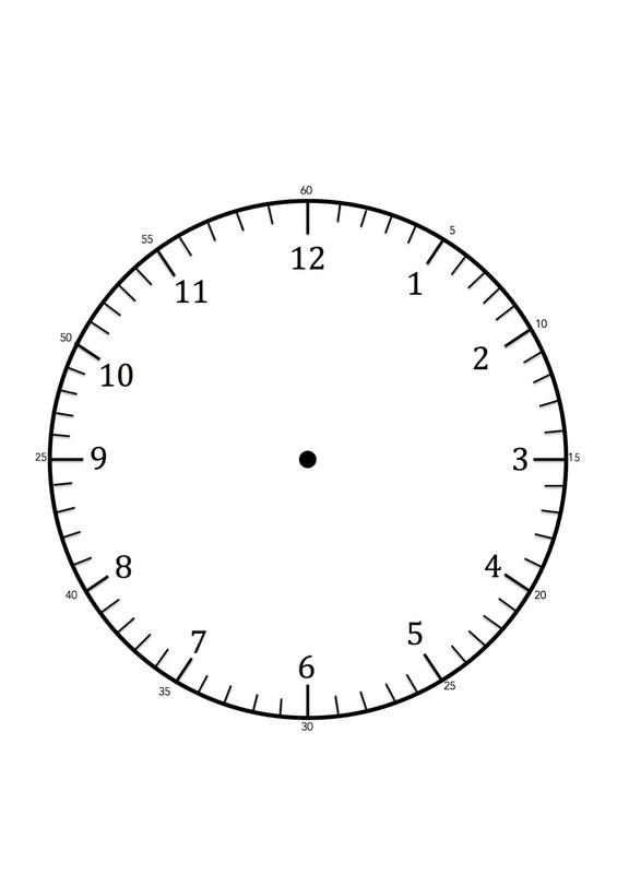 image about Clock Face Printable identified as Clock Faces for employ the service of within just studying toward notify the year.