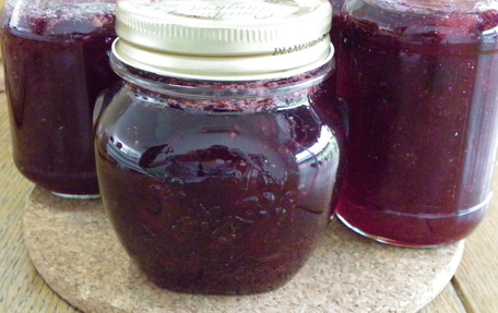 Printable Recipe - Mixed Berry and Apple Jam