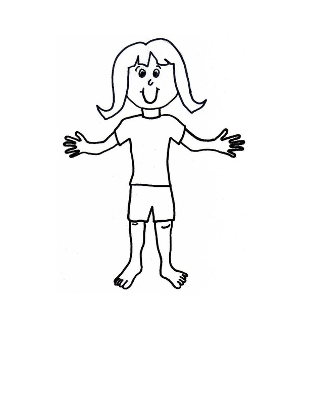 graphic regarding Printable Paper Doll Template identify Paper Dolls with dresses