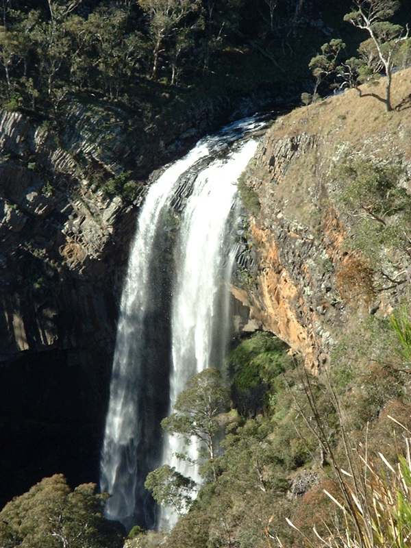 lower ebor falls guy fawkes river new south wales australia