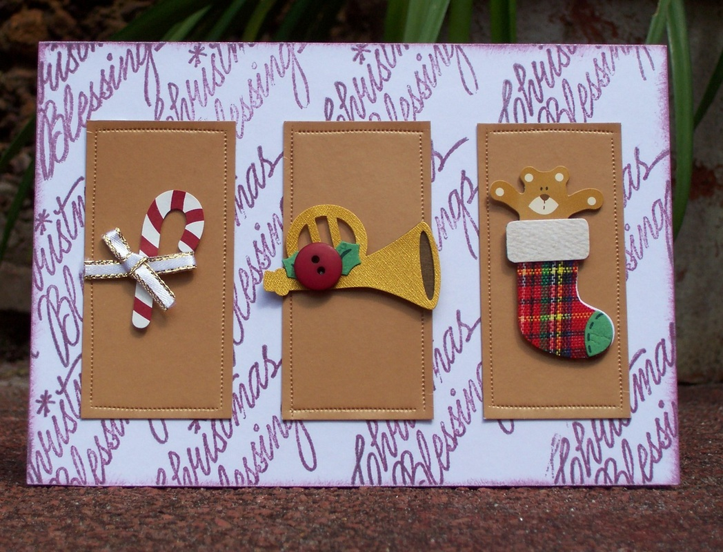 Ideas For Making Cards Part - 44: Christmas Cards Made Using Stick On Embellishments