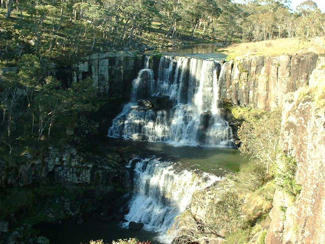 Upper Ebor Falls guy fawkes river new south wales australia