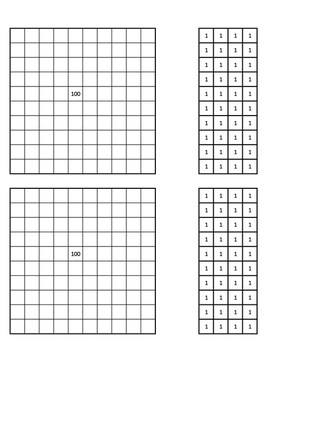 Free printable template for hundred tens and ones math learning