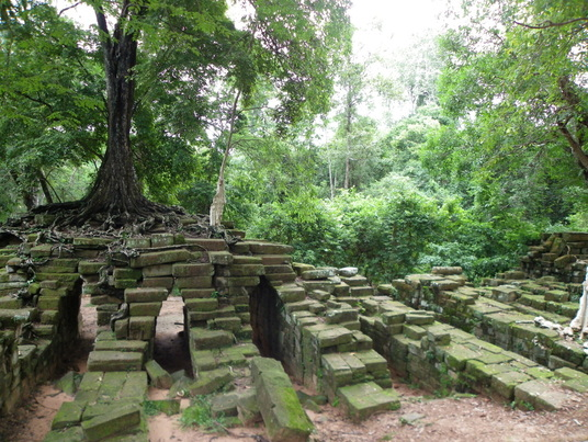 Siem Reap Cambodia Ancient Temple ruins bridge Angkor