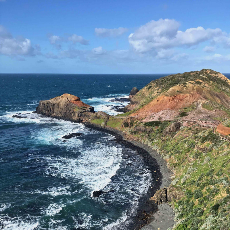 Cape Schanck, Mornington Peninsula, Victoria.