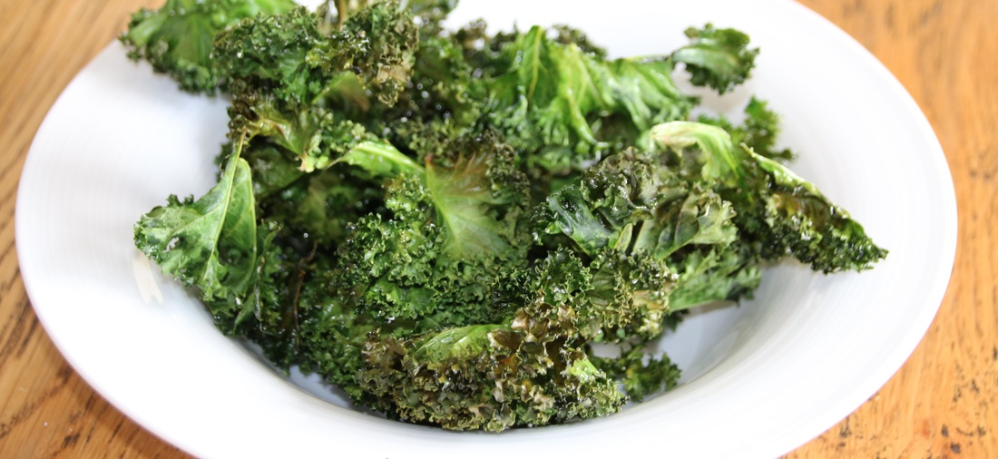 Kale Crisps. Gluten Free, Grain Free, Low Carb and Delicious.
