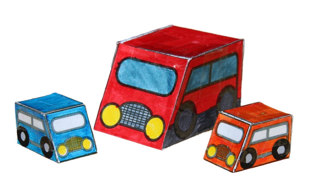 Marble powered car craft for kids. Cool cars powered by marbles with free printable template and instructions.
