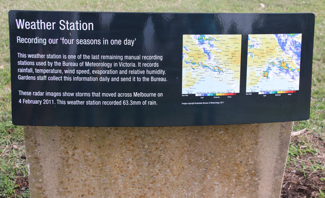 Weather Station Cranbourne Royal Botanic Gardens, Victoria, Australia